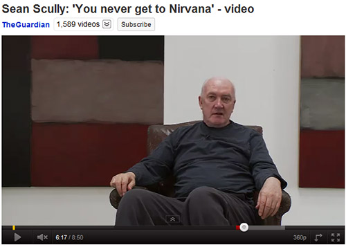 Sean Scully Nirvana video link