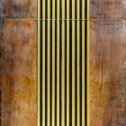 """Hidden & Revealed IV, diptych, encaustic & mixed media on panel, 36 x 17.25 x .5"""" (sold)"""